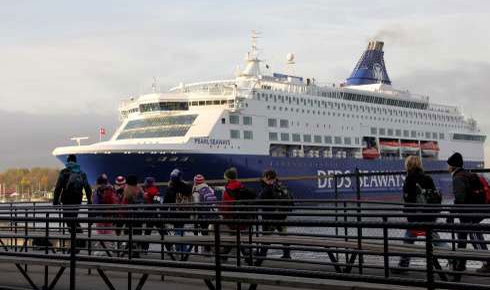 Nye seilingstider for DFDS
