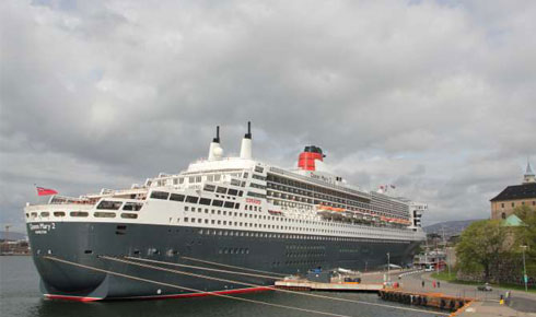 Queen Mary 2 i Oslo