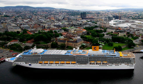 Oslo - a popular cruise destination