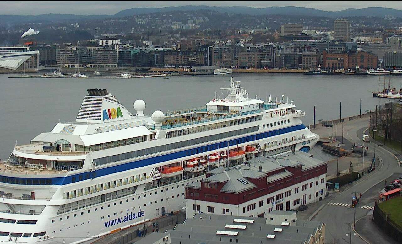 The start of the cruise season in Oslo will be an AIDA happening