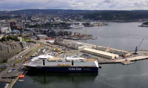 vippetangen oslo kart Norway`s largest ferry port   Oslo Havn vippetangen oslo kart