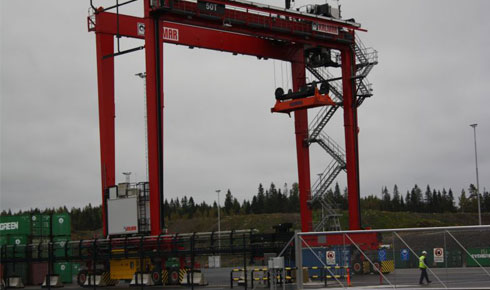 New cranes to Oslos cargo port