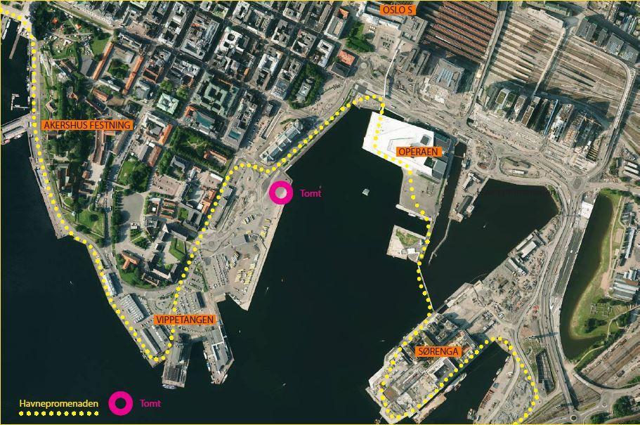 kart oslo havn Spennende tomter ved sjøkanten   Oslo Havn kart oslo havn