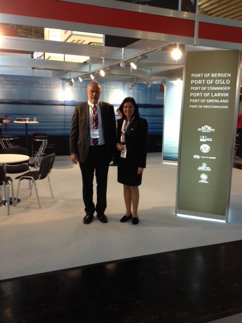 Norwegian ports on major transport and logistics exhibition