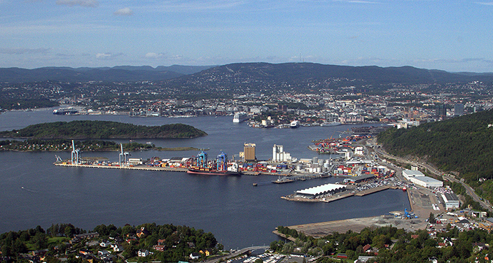 Oslo is the world's third best port city